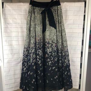 Anthropologie Edme & Esyllte Maxi Skirt